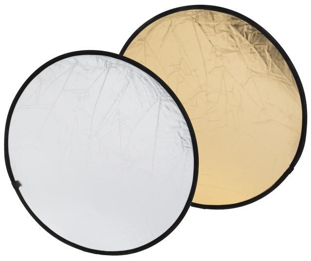 BRESSER BR-TR5 Reflectiescherm goud/zilver 80cm rond