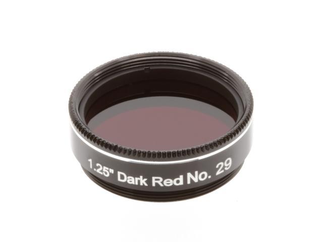 "EXPLORE SCIENTIFIC filter 1,25"" donkerrood nr.29"