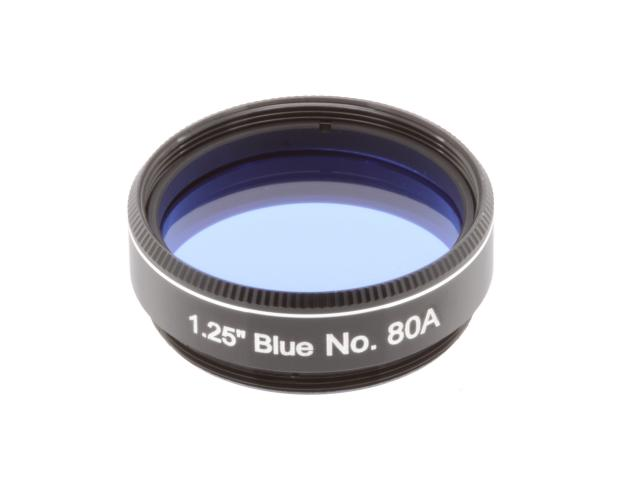 """EXPLORE SCIENTIFIC filter 1,25"""" blauw nr.80A"""