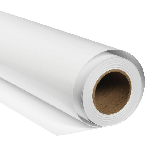 BRESSER SBP01 Achtergrond Rol 2,72 x 11m acrtisch wit