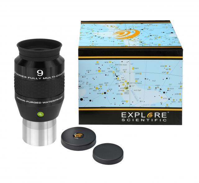 """EXPLORE SCIENTIFIC 120° Ar Oculair 9 mm (2"""")"""