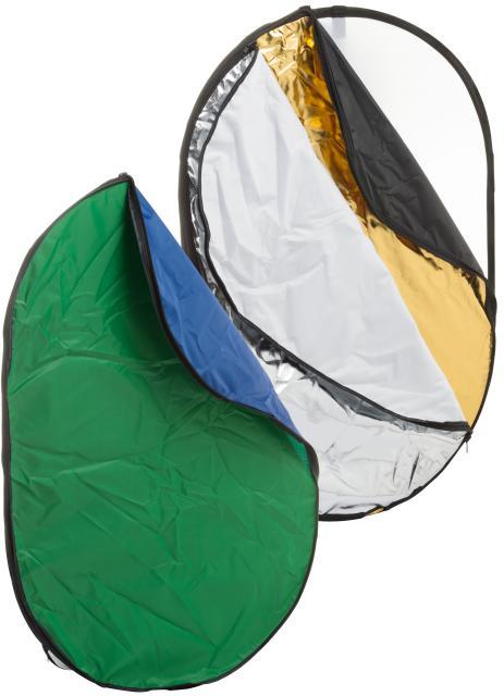 BRESSER BR-TR2 7in1 opvouwbare Diffuser, Reflectiescherm en Achtergrond 150x200cm