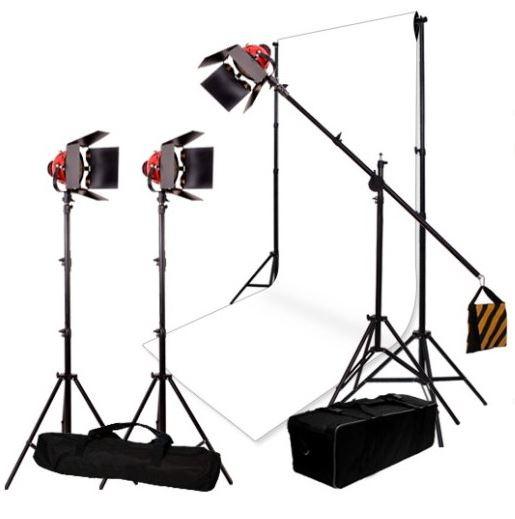 Menik Studio Set 3W Foto/Video SG-800D Halogeen