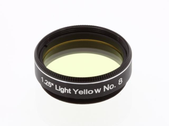 "EXPLORE SCIENTIFIC filter 1,25"" lichtgeel nr.8"
