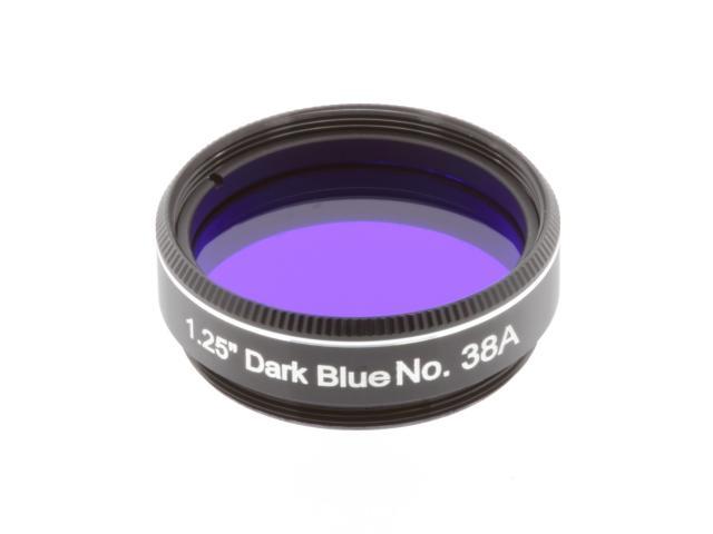 "EXPLORE SCIENTIFIC filter 1,25"" donkerblauw nr.38A"