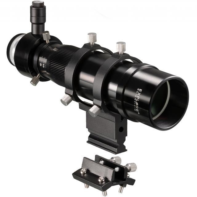EXPLORE SCIENTIFIC 8x50 Zoeker en Guider Scope met Helical Focuser, 1.25inch en T2-aansluiting