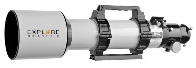 EXPLORE SCIENTIFIC ED APO 102mm f/7 Alu FCD-100 Alu HEX