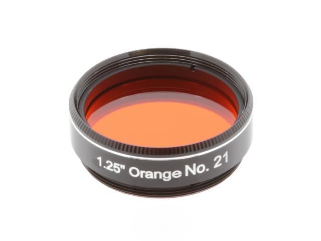 """EXPLORE SCIENTIFIC filter 1,25"""" oranje nr.21"""