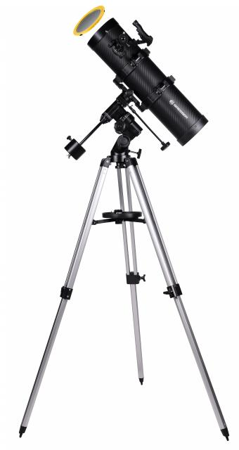 BRESSER Spica 130/650 EQ2 Spiegeltelescoop met Smartphone Camera Adapter