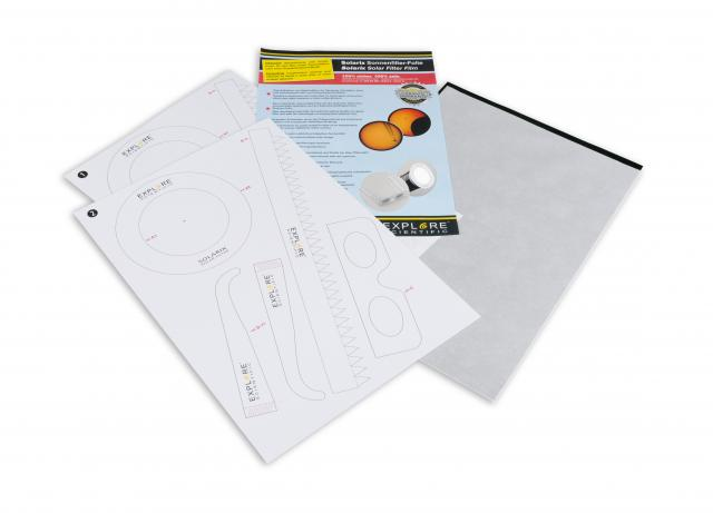 EXPLORE SCIENTIFIC Solarix Solar Filter Film A4