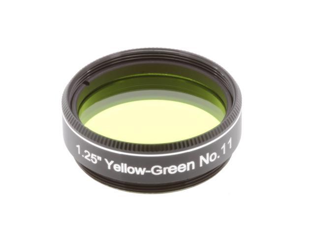 "EXPLORE SCIENTIFIC filter 1,25"" geelgroen nr.11"