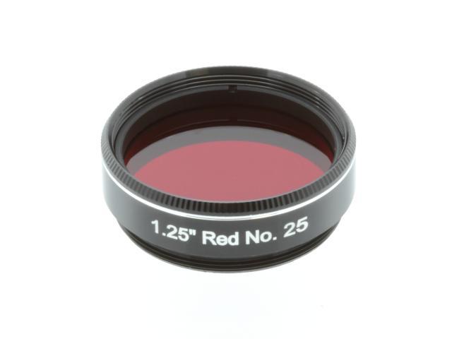 """EXPLORE SCIENTIFIC filter 1,25"""" rood nr.25"""