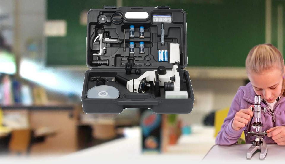 Microscope bresser biolux nv x